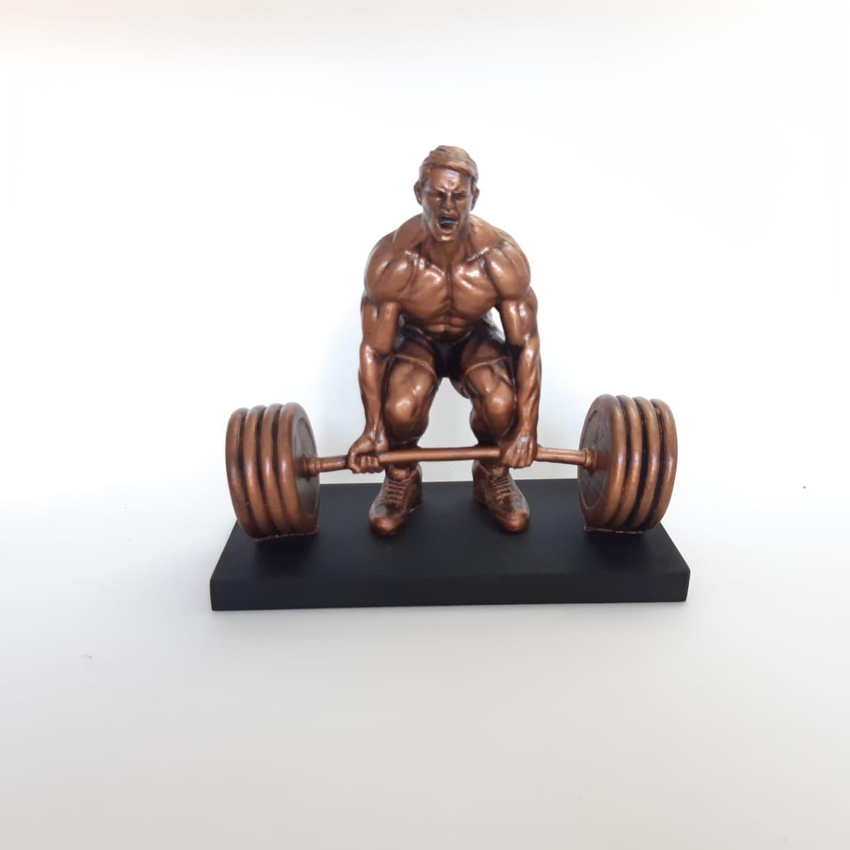 Troféu em resina- atleta 360 Cross / gym