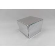 Caixa 5x5 Prata para Anel pacote com 12 unidades