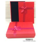 Caixa Conjunto Grande 13x18x3.5 ( Sophia) Vermelho