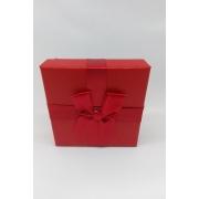 Caixa Conjunto Quadrada  ( Sophia) Vermelho 8X8