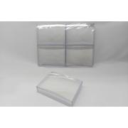 Caixa de Acrílico 8x11x3 (fundo branco) pacote com 6 unidades