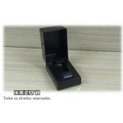 Caixa de Acrílico para Relógio Preta Retângular 5x8x5 ( pacote com 12 pçs )
