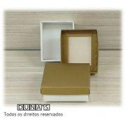 Caixa Dourada com espuma  6x7x3