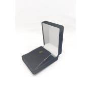 Caixa Veludo Preto  (corte lateral p/corrente ) 5.x6.5