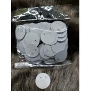 Cartela BOLINHA para brinco ( 500 unidades ) COM ACETATO