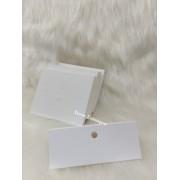 Cartela D13 Branca 7x9 pacote com 100 unidades