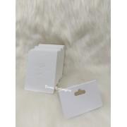 Cartela D14 Branca 6x8 pacote com 1000 unidades