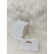Cartela D15 Branca 5x6 pacote com 1000 unidades