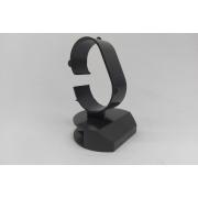 Expositor para Relógio ( gancho largo ) PRETO 5.5x5x8 c/ 20