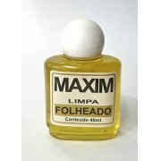 Limpa Jóias Maxim Folheado ( 40 ml )