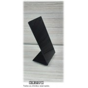 Placa de Acrílico para Brinco Individual Preto 5x10x4