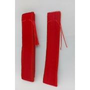 Saco de Veludo 2.5X15 Vermelho