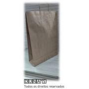 Sacola CRAFT alça de papel  33x45x11 ( pacote com 10 unidades )