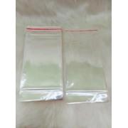 Saquinho plástico adesivado 10x15 com furo pacote com 1000 unidades