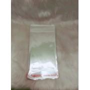 Saquinho plástico adesivado 12x18 com furo pacote com 100 unidades
