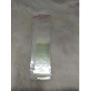 Saquinhos plástico adesivado 5x22 pacote com 1000 unidades