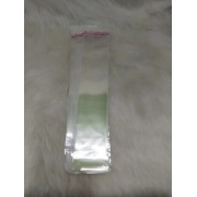 Saquinhos plástico adesivado 5x22 pacote com 100 unidades