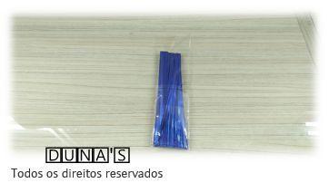 Arame Azul para fechar sacos de presente