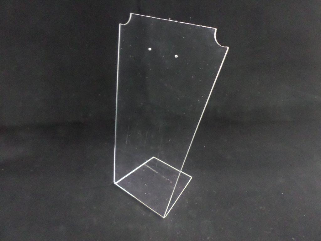 Batman Acrílico Méd Transparente 22x13x8