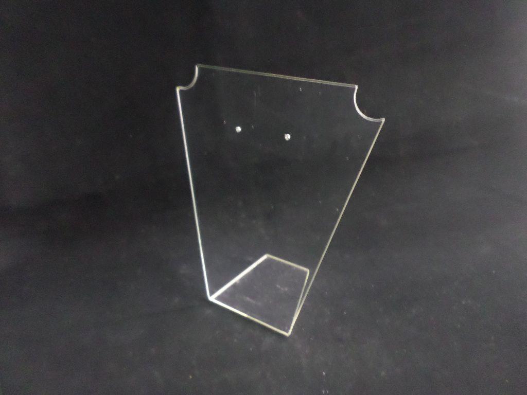 Busto de Acrilico Batman Mini Transparente 10x8x6