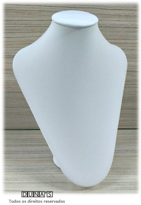 Busto ( M ) Napa Branco arredondado 26X20X8