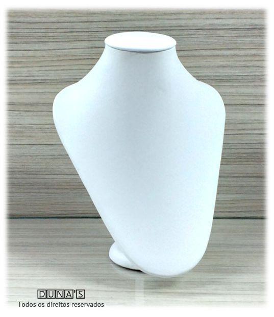 Busto ( P ) Napa Branco arredondado 22x18x8