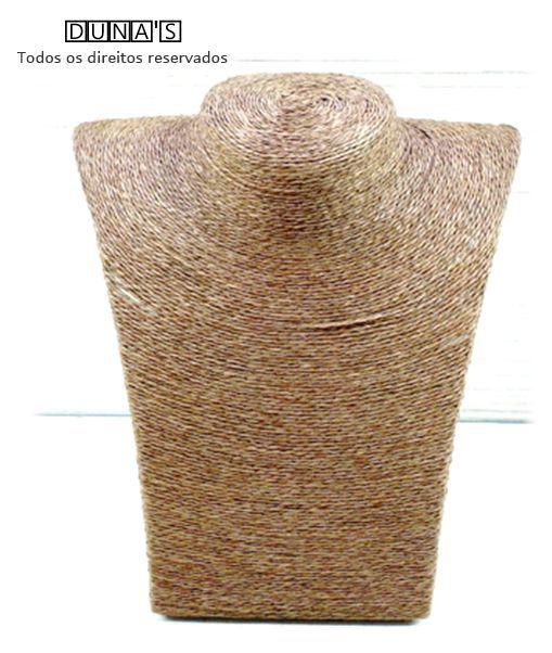 Busto ( P ) Rústico Marrom 21x20x11