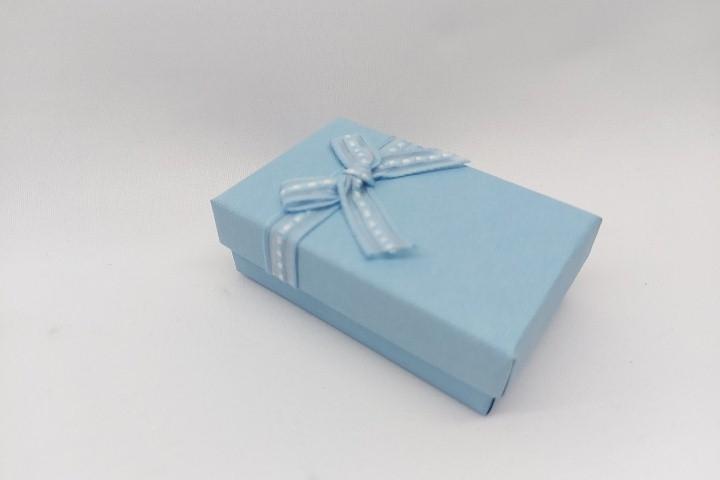 Caixa 5x7 - para conjunto azul claro - unidade
