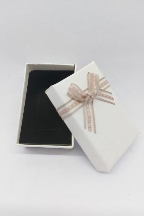Caixa 5x8 para conjunto - Branca laço  - unidade