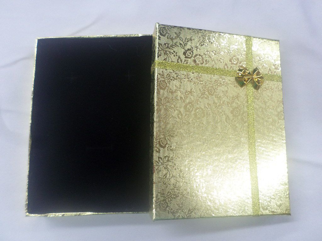 Caixa Conjunto  Dourada
