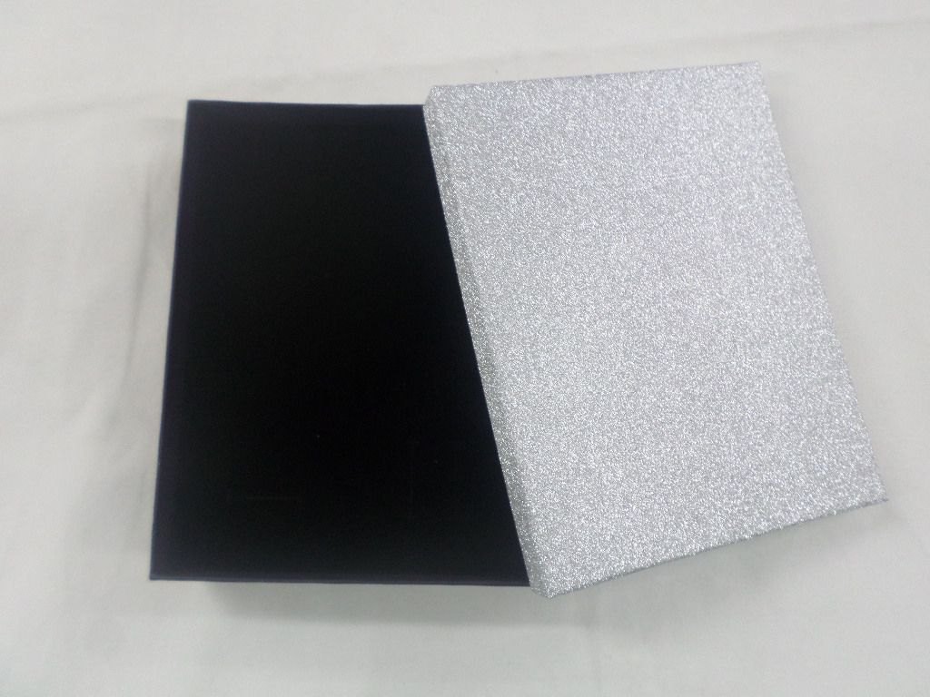 Caixa Conjunto Brilho prata 12x16x3