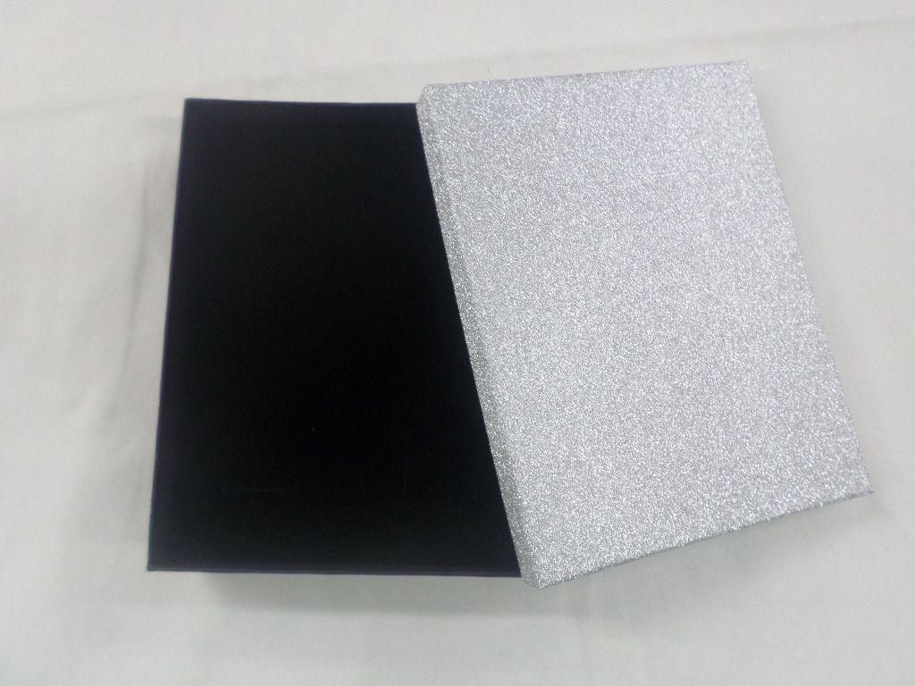 Caixa Conjunto Brilho Prata