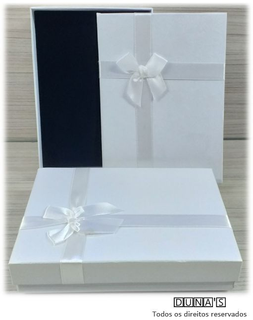 Caixa Conjunto Grande 13x18x3.5 ( Sophia) Branco