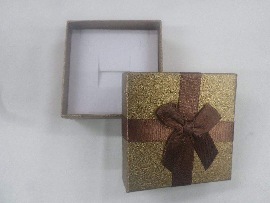 Caixa Conjunto Quadrada 8x8x3 ( Sophia) Marrom