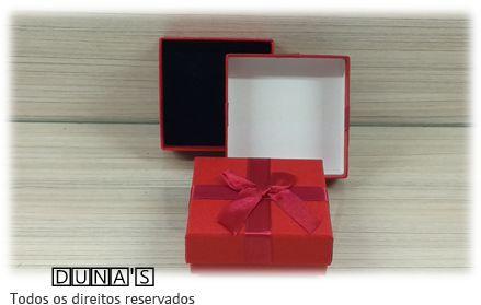 Caixa Conjunto Quadrada  ( Sophia) Vermelho