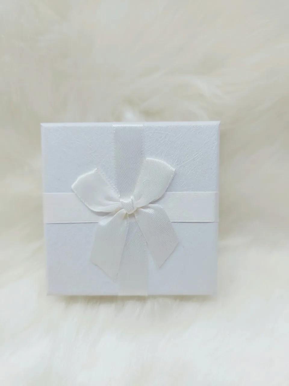 Caixa Conjunto Quadrada  ( Sophia) Branco 8x8