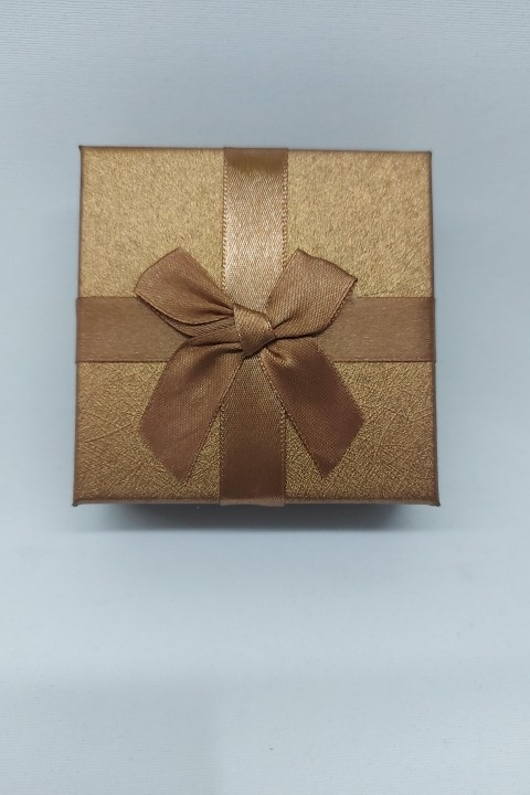 Caixa Conjunto Quadrada ( Sophia) Marrom 8X8