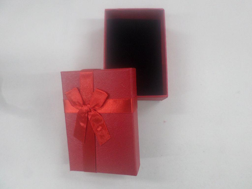 Caixa Conjunto Retângular  ( Sophia) Vermelho