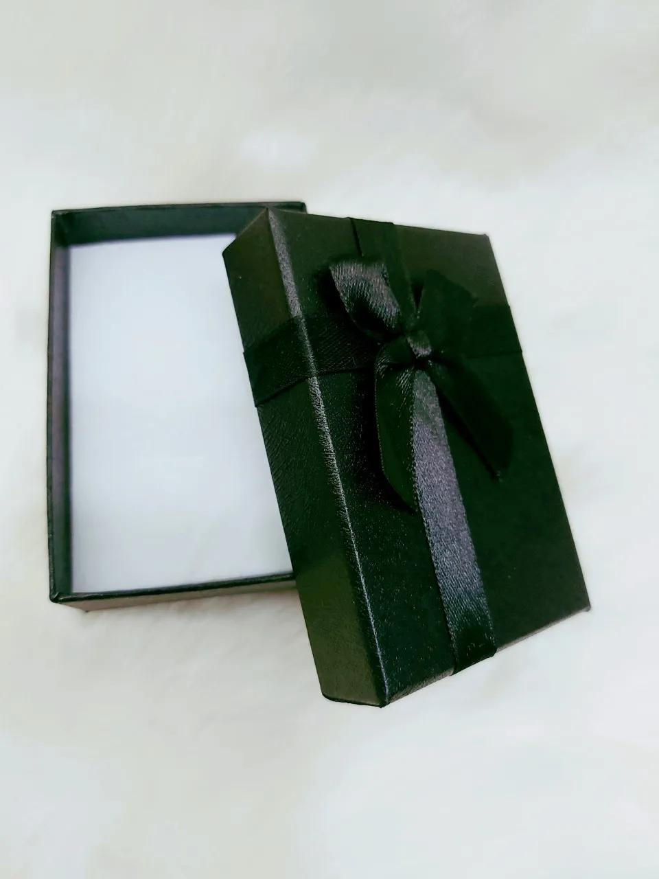Caixa Conjunto Retângular  ( Sophia) Preto 6X9