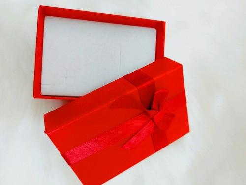 Caixa Conjunto Retângular  ( Sophia) Vermelho 6X9