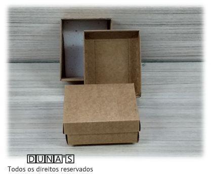 Caixa Craft com espuma para bijuterias ( P ) PCT/18 UNID