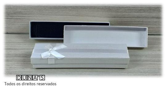 Caixa para Pulseira 4.5x19.5x3 ( Sophia) Branco