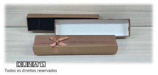 Caixa para Pulseira 4.5x19.5x3 ( Sophia) Marrom