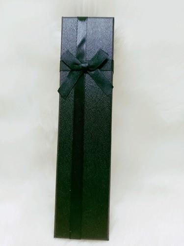 Caixa para Pulseira 4.5x19.5x3 ( Sophia) Preto