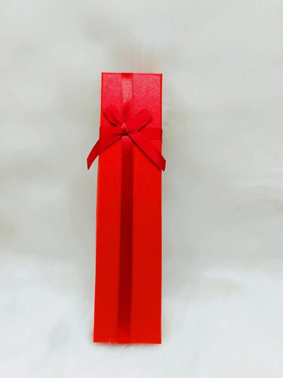 Caixa para Pulseira 4.5x19.5x3 ( Sophia) Vermelho
