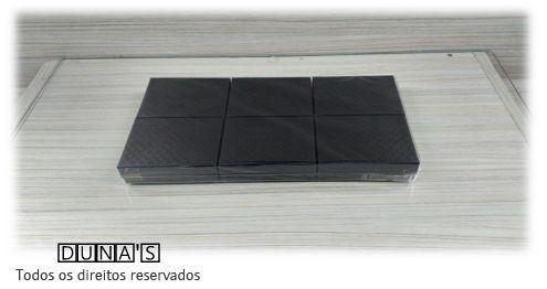Caixa Rígida para Conjunto 7x9 Preto textura ( Pacote com 06 unidades)