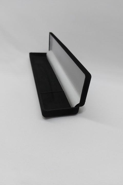 Caixa Veludo Preto Pulseira 21x5x2.5