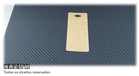Cartela D05 kraft 5x11 com 100 unidades (cartela para brinco)