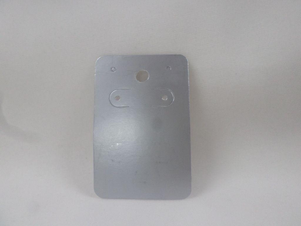 Cartela D06 Prata 5x7 com 100 unidades (cartela para brinco)