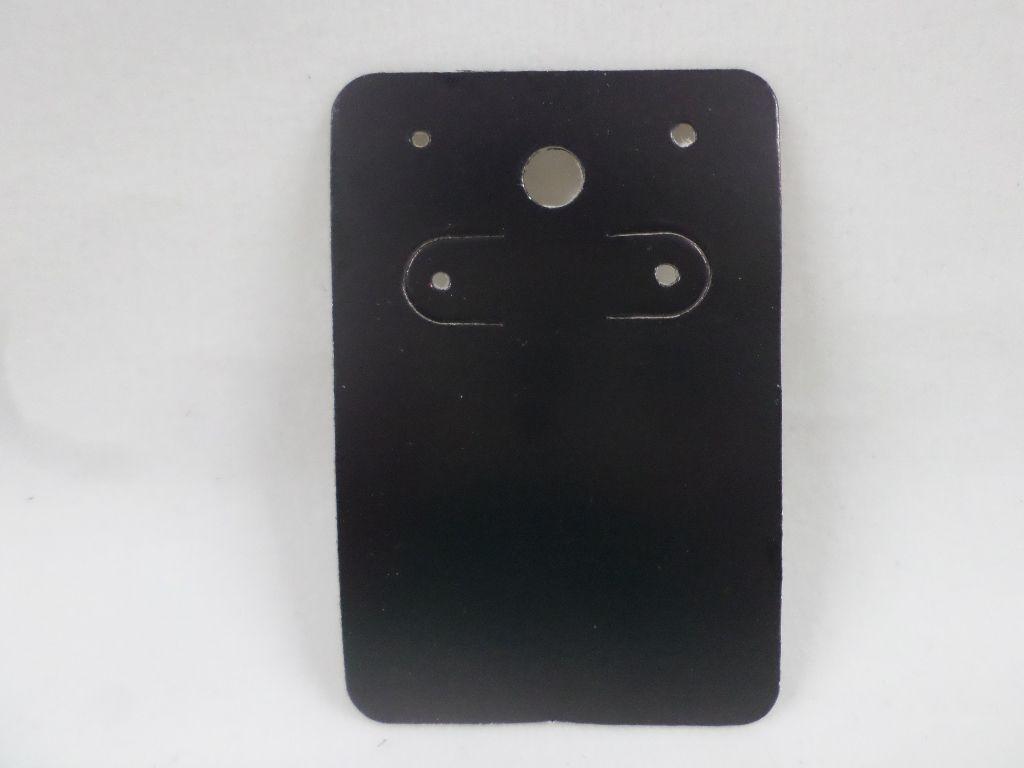 Cartela D06 Preta 5x7 com 1000 unidades (cartela para brinco)